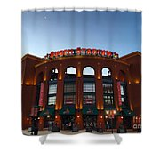 Sunrise At Busch Stadium Shower Curtain
