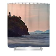 Sunrise At Cape Disappointment Shower Curtain