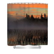 Sunrise At Connery Pond 1 Shower Curtain