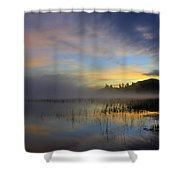 Sunrise At Connery Pond 3 Shower Curtain