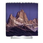 Sunrise At Fitz Roy Patagonia 7 Shower Curtain