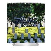 Sunrise At Gettysburg National Cemetery Shower Curtain