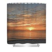 Sunrise At Hollywood Beach Shower Curtain