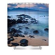 Sunrise At Ho'okipa - Sunrise At Hookipa Beach In Maui Shower Curtain