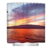 Sunrise At Ma'alaea Maui Shower Curtain