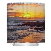 Sunrise At Makapu'u Shower Curtain