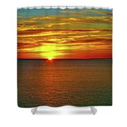 Sunrise At Matane Shower Curtain