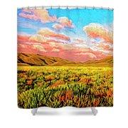 Sunrise At Montana De Oro Shower Curtain