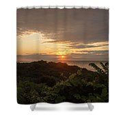 Sunrise At Montauk Point State Park Shower Curtain