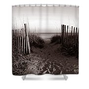 Sunrise At Myrtle Beach Sc Shower Curtain