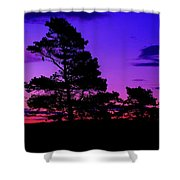 Sunrise At Point Pleasant Park Shower Curtain