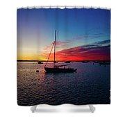 Sunrise At Provincetown Pier 1 Shower Curtain