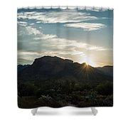 Sunrise At Sabino Canyon Shower Curtain
