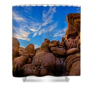 Sunrise At Skull Rock Shower Curtain