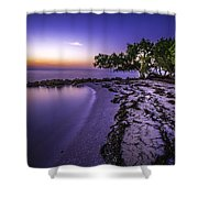 End Of The Beach Shower Curtain