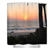 Sunrise At The Pipe Shower Curtain