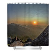 Sunrise At The Summit Shower Curtain