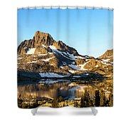 Sunrise At Thousand Island Lake Shower Curtain