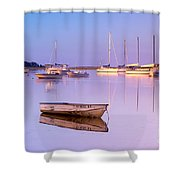 Sunrise At West Bay Osterville Cape Cod Shower Curtain