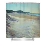 Sunrise Beach And Lions Head Noosa Heads Queensland Shower Curtain