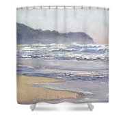 Sunrise Beach Sunshine Coast Queensland Australia Shower Curtain