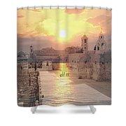 Sunrise Bethlehem Shower Curtain