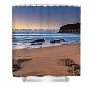 Sunrise By The Seaside Shower Curtain
