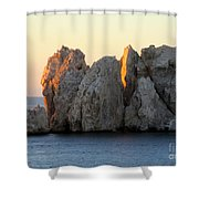 Sunrise Cabo 3 Shower Curtain
