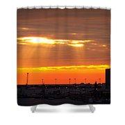 Sunrise Cape Canaveral Florida Shower Curtain
