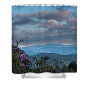 Sunrise Clouds Shower Curtain