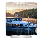 Sunrise Cruise To Doubtful Sound Shower Curtain