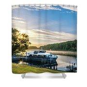 Sunrise Cruise To Doubtful Sound, New Zealand Shower Curtain