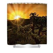 Sunrise Done With An Arizona Flare Shower Curtain