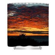 Sunrise Drama By The Sea Shower Curtain