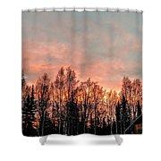 Sunrise Fire  Shower Curtain