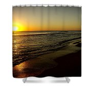 Sunrise First Light Shower Curtain