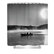 Sunrise Fishing 2 Shower Curtain