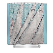 Sunrise Fog Regatta Shower Curtain