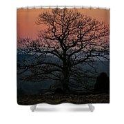 Sunrise From Bolton Ma Shower Curtain