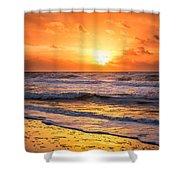 Sunrise Gulf Shores Alabama Beach Shower Curtain