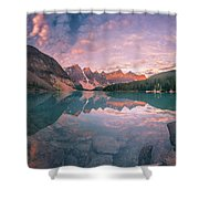 Sunrise Hour At Banff Shower Curtain