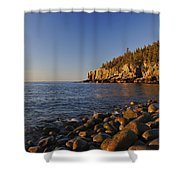 Sunrise In Acadia Shower Curtain