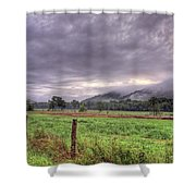 Sunrise In Boxley Valley Shower Curtain