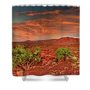 Sunrise In Capitol Reef National Park Utah Shower Curtain