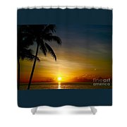 Sunrise In Florida / A Shower Curtain