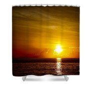 Sunrise In Florida / C Shower Curtain