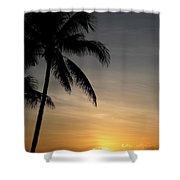 Sunrise In Florida / D Shower Curtain