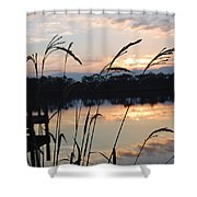 Sunrise In Grayton 3 Shower Curtain