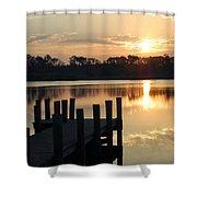 Sunrise In Grayton Beach II Shower Curtain