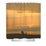 Sunrise In July Shower Curtain
